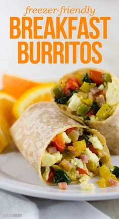 Freeze these tasty burritos instead of hitting up the drive-thru for breakfast!