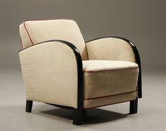 Swedish Art Deco Chair. @Deidré Wallace