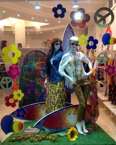 Hippie #vetrina #hippie #hippystyle #hippy #fashion #figlideifiori