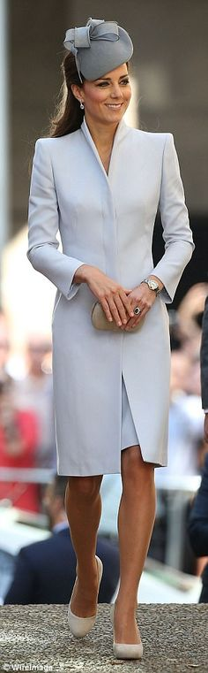 Although the Duchess of Cambridge, 35, always looks impeccably polished, many of her outfits could come from the wardrobe of Camilla, Princess Anne or even the Queen.