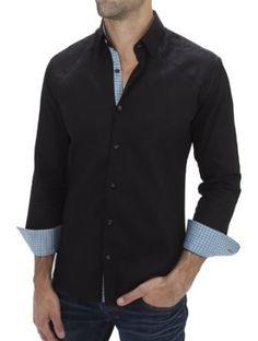 Stone Rose black dress shirt Martin 759  Price:$155.00