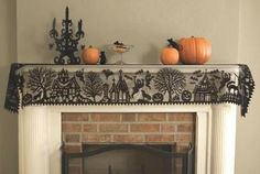 15 best fireplace scarf images fireplace mantles christmas rh pinterest com