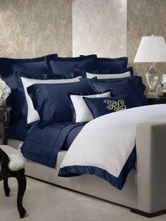 Polo Navy Langdon Duvet - Ralph Lauren Home Duvet Covers - RalphLauren.com