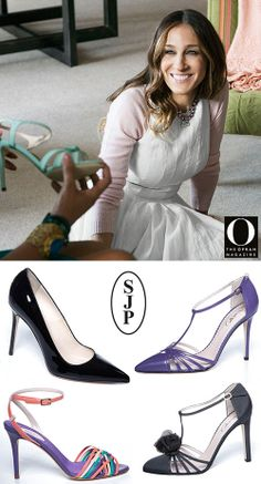 Shoe Lust: O, The Oprah Magazine x SJP Collection