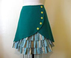 She has the most unique skirt designs I've seen in a while.