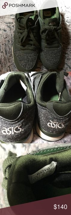 asics tiger gel lyte v tailor Sneakersnstuff asics tiger gel lyte v tailored.  Worn only very few times - less than 5 times.  Bought from Sweden, shipped to Seattle.  These shoes was released by asic and SNS in 2015.  This is a deadstock item.  Used slightly.  Sells online today for 200.  Not in this size, I looked for today's postings.  No low ball offers.  Happy poshing everyone. Asics Shoes Sneakers