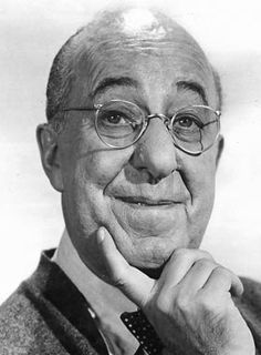 """The late, great Ed Wynn. From bringing an animated Mad Hatter to life, to making me laugh hysterically as Uncle Albert in Disney's version of """"Mary Poppins,"""" he has brought me so much joy."""