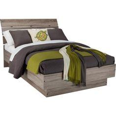 Laguna Queen Bed With Headboard, Truffle
