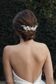 Wedding Hair Accessories | Wedding Headwear | Opulent Secret Garden Collection from Tania Maras Bridal