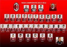 AC Milan 2012-13 Squad