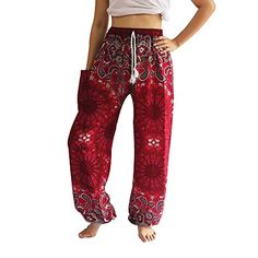Hippie Pants, Boho Pants, Boho Hippie, Yoga Trousers, Harem Pants, Hippie Outfits, Chic Outfits, Thai Pants, Elephant Pants