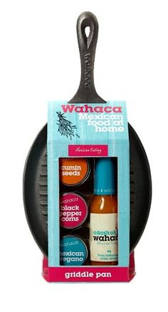 Wahaca I'm making Mexican tonight #packaging PD