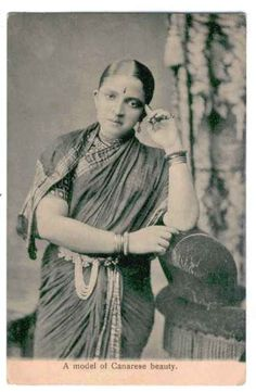 A+Type+of+Canarese+Beauty+-+Undated+Photograph+of+an+Indian+Lady+2.jpg (423×648)