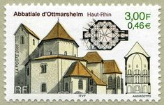 Abbatiale d´Ottmarsheim (Haut Rhin)