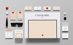 A Sweet, Playful & Bold Branding For A Fashionable Boutique