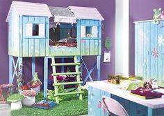 garden theme girl's bedroom