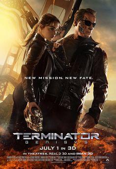 """TERMINATOR GENISYS Perché riscrivere – peraltro in malo modo, senza alcuno spunto originale e con una miriade di """"supercazzole"""" pseudo-scientifiche – una pagina della storia della fantascienza, che a ben vedere ha già detto tutto ciò che aveva da dire? Peccato per il povero Schwarzenegger, che ce la mette davvero tutta per dare un tono ironico al robot ormai senilescente. RSVP: """"Terminator"""", """"Terminator 2 – Il giorno del giudizio"""". Voto: 4."""
