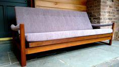Rare Virginia Sofa-Bed in Grey By Guy Rogers Mid-century Interior, Interior And Exterior, Retro Furniture, Antique Furniture, Grey Sofa Bed, Design Museum, Mid Century Furniture, Museums, Modern Contemporary