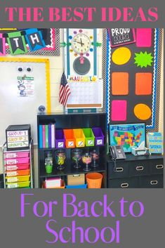 The 67 best classroom setup ideas to get your class ready for back to school including how to label your teacher toolbox, get organized, and tips and inspiration to create an amazing space for you and your students. Preschool Classroom Decor, Classroom Setup, Classroom Design, Kindergarten Classroom, Future Classroom, Classroom Organization, Student Gifts, Teacher Gifts, Teacher Blogs