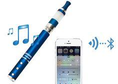 通話もできる電子たばこ Supersmoker Bluetooth 発売、マイクとスピーカー内蔵 (動画) - Engadget Japanese
