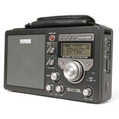 Electronics Eton AM/FM Shortwave Deluxe Radio Receiver (Black) description The DELUXE blends the best of yesterday and today. Tvs, Phone Sounds, World Radio, Radio Antigua, Antique Radio, Short Waves, Transistor Radio, Ham Radio, Control Panel