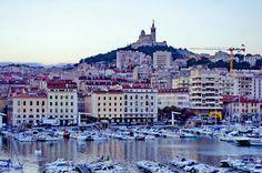 https://flic.kr/p/vCgPsW | Marseille 2014 - 143 le jour se lève sur le Vieux Port