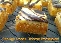 Orange Cream Cheese Brownies with Nutella – The Baking ChocolaTess