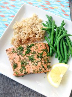 We made unbelievably fast and flavorful salmon right in our Instant Pot! No defrosting required!