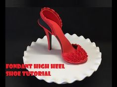 417cd9ba089b Franklysweet Tiny sugar shoes - high heels with gold bow - YouTube Rice  Krispie Treats