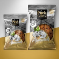 packgallery - Pack Gallery Nuts - World Brand Design Society / Backed up with. Packaging Snack, Cool Packaging, Food Packaging Design, Coffee Packaging, Bottle Packaging, Brand Packaging, Branding Design, Pouch Packaging, Packaging Ideas