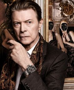 David Bowie for Louis Vuitton first picture