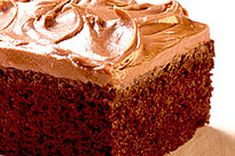 Chocolate and coffee in the batter make this chocolate cake not only moist and amazingly delicious, but the best ever. Did we mention this cake is also the easiest ever chocolate cake? Bakers Chocolate, Death By Chocolate, Chocolate Cherry, Homemade Chocolate, Melting Chocolate, Chocolate Cake, Cheesecake Recipes, Dessert Recipes, Dessert Ideas