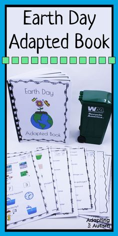 This adapted book is perfect to introduce your special education students to Earth Day.  Book is full of visual supports ideal for an autism classroom.  Also includes leveled worksheets.