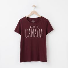 Roots - Made In Canada T-shirt