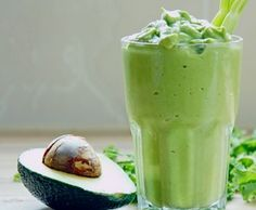 photo credit: http://www.flickr.com/photos/wildtofu 1/2 avocado, 1/4 c greek yogurt, 1/2 banana, 3/4 c oj, 4-5 ice cubes, 1 tbsp honey