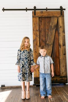 Adorable pleated blue dress and grey shirt Toddler Fashion, Boy Fashion, Fashion Outfits, Kids Clothing Rack, Boutique Clothing, Navy Blue Dresses, Navy Dress, Family Picture Outfits, Kids Outfits