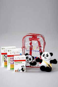 Little Pim  Chinese Backpack Plus