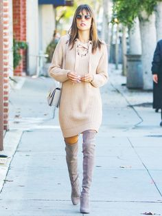 Alessandra Ambrosio's Trick For Pulling an Outfit Together via @WhoWhatWear