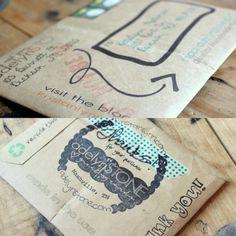 adelynSTONE: Packaging Handmade Products - The Etsy Shop + Printable DIY Envelope