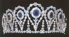 Tiara de los marqueses de la Motilla.