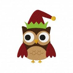 Have this. Elf Owl Machine Embroidery Design
