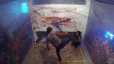 Capoeira Painting Performance