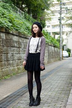 40 Japanese Fashion Looks To Try Before Anyone In 2017