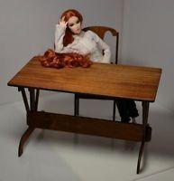 Table for Dolls House furniture 1:6 FR, Barbie, Poppy Parker, Momoko bar