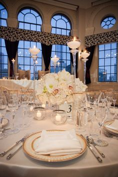 Keep your wedding reception place settings on point with these 2017 trends sure to impress guests.