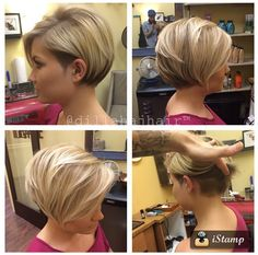 Amazing short hair idea! ❤️