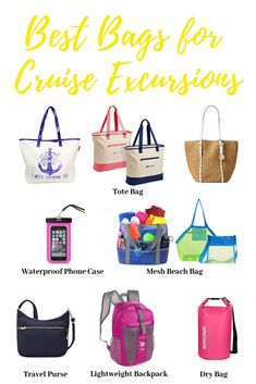Best Bag for Cruise Excursions - Cruise Packing Tips Packing List For Cruise, Cruise Tips, Cruise Travel, Cruise Vacation, Disney Cruise, Europe Packing, Traveling Europe, Vacation Deals, Backpacking Europe