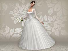 "beocreations: "" Wedding dress - Cynthia (S4) DOWNLOAD "" :)"