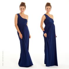 MEV - Mothers en Vogue - Grand Opera Maxi Dress. An elegant and stylish maxi toga dress from the X.tended collection, thoughtfully designed in a flattering silhouette, and may be worn during and after pregnancy. Features a fitted empire cut with a relaxed skirt with flattering front subtle gathers, thereby giving a more flattering look to the silhouette. Its fit-and-flare shape, with full skirt gives plenty of flair and swish. #mothersenvogue #nursing #fashion #style #mev #moms #SS14…