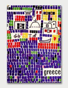 Greek National Tourist Office Artist: Michael Katzourakis / Graphis Annual 64/65